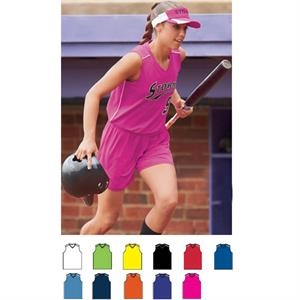 Storm (tm) - Girls Pinhole Mesh Performance Jersey. Sold Blank