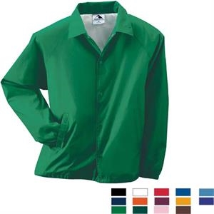 3 X L - Adult Nylon Coach's Jacket Lined With Polyester. Sold Blank