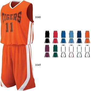 Triple-double - 2 X L - Adult Game Jersey 100% Polyester Wicking Knit. Sold Blank