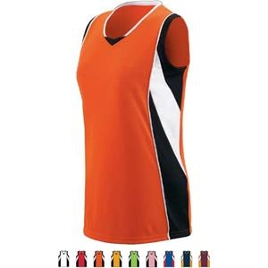 Extreme - Girls Performance Polyester/mesh Jersey. Sold Blank