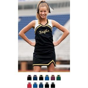 Flyer - 100% Polyester Double Knit Girls Flyer Shell. Sold Blank