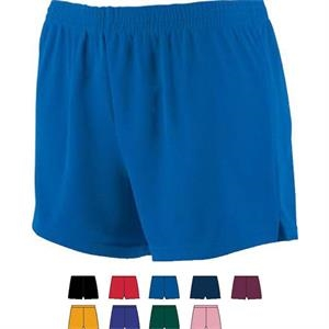 S- X L - Ladies Junior Fit Wicking Mesh Cheer Sh