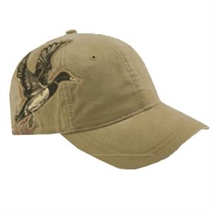 Authentic Wildlife Series (tm) - Relaxed Low-profile Cap With Adjustable Velcro (r) Back Strap