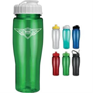 Contour - Translucent Sports Bottle, 24 Oz