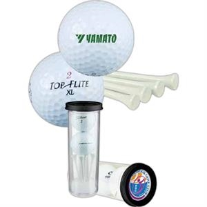 Topflite - Golf Gift Sleeve With Two Golf Balls