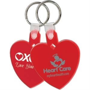 Heart - Soft Key Tag