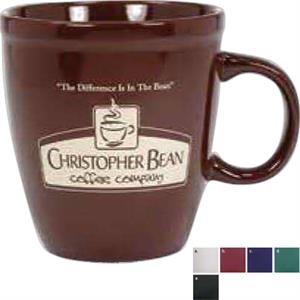 Mocha - Green - 20 Oz Ceramic Mug