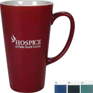 Firehouse - Matte Mug With White Interior, 16 Ounces