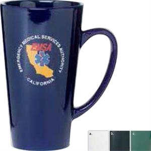 Firehouse - Black Glossy - Glossy Mug, 16 Ounces