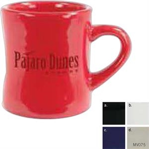 Vitrified Tahoe (r) - White - 10 Oz Diner Ceramic Mug