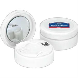 Dental Floss With Mirror Comes With About 60 Yards Of Waxed Floss