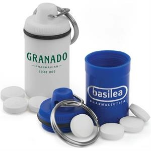 Split Key Ring Pill Jar Is An Easy Way To Keep Your Medication On Hand