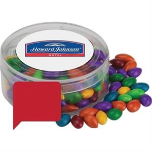 A Fills Option - Round Plastic Candy Container