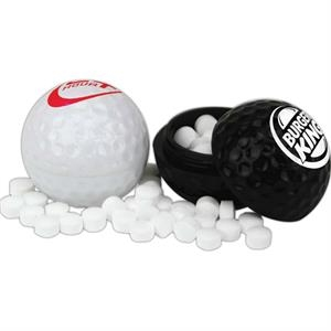 Mints - Golf Ball Mint Container Filled Various Candy Products