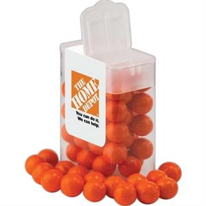 A Fills - Small Rectangle Flip Top Container With Your Choice Of Candy Fill