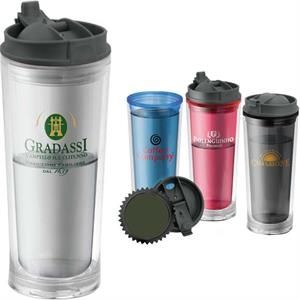 Bpa Free Double Wall Tumbler, 14 Oz