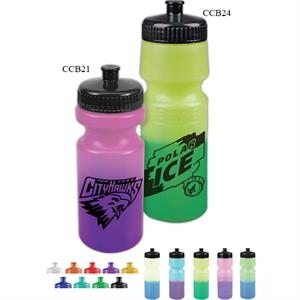Personal Refillables (tm) - 24 Oz. Cool Color Changing Sports Bottle