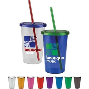 Personal Refillables (tm) - 20 Oz Acrylic Travel Tumbler