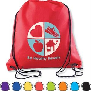 Value-pack Drawstring Backpack