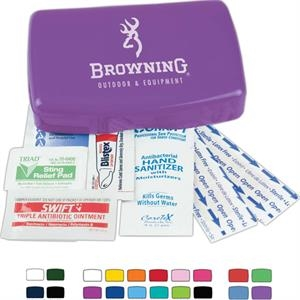 Outdoor Kit, Contains Blistex (r) Packet, Triple Antibiotic Ointment, And Much More