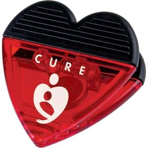 Heart - Magnet Clip With Strong Magnet Backing