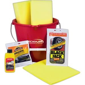 Detailing Car Wash Kit with Assorted Cleansers