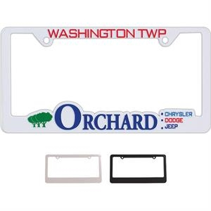Two Corner Frame With 4 Holes - Hi Impact 3-d License Plate Frames