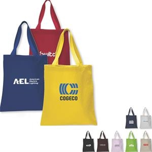 Heavy Canvas Promotional Tote Bag With Web Handles