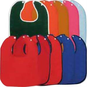 Colored Snap Baby Bib