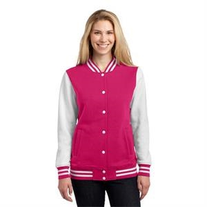 X S -  X L - Sport-tek Ladies Letterman Jacket
