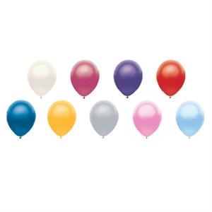 "Adrite (tm) - 11"" - Economy Latex Balloon In Metallic Colors"