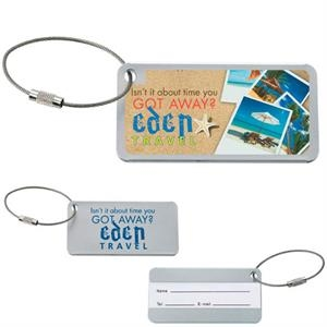 Compact Luggage Tag