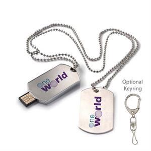 Dog Tag USB 2.0 Flash Drive