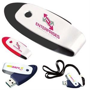 Oval Shape USB 2.0 Flash Drive