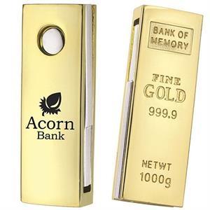 Mini Golden Nugget USB 2.0 Flash Drive