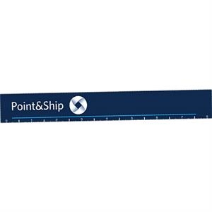 "8"" - Full Color Ruler, .020"" Thick"