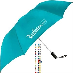 Spectrum - Automatic Opening Umbrella At The Touch Of A Button, Sturdy Metal Shaft