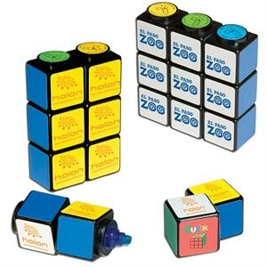 Rubik's Cube (R) Highlighter Set With Magnets