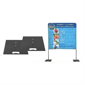 Over The Top Floor Base Hardware, Set Of 2