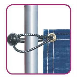 "In-ground Banner Frame 9"" Ball Bungee"
