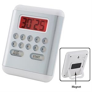Timer Is Illuminated By An Led Back Light, Digital. Batteries Not Included