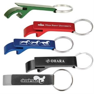 Aluminum Bottle Opener Key Chain