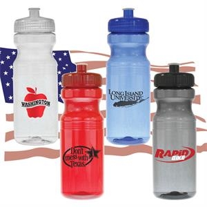 Lance - 24 Oz Usa Made Bpa-free Polypropylene Bike Bottle