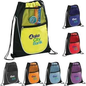 Locker Mesh Pocket Drawstring Sportspack