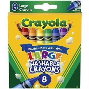 Crayola 8 ct. Large Washable Crayons