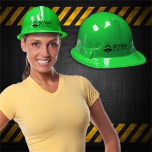 Green Plastic Construction Hat