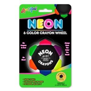 Neon Crayo-Craze Six Color Crayon Wheel
