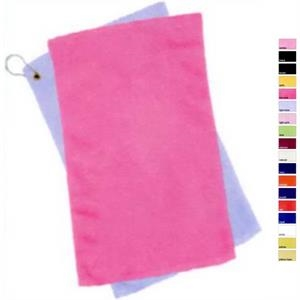 Q-Tees Fingertip Towel Hemmed with Corner Grommet