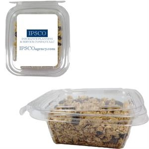 Safety Fresh Square Container With Granola