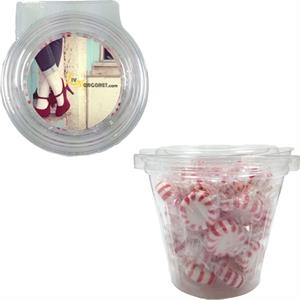 Safe-T Fresh Round Container With Starlite Mints
